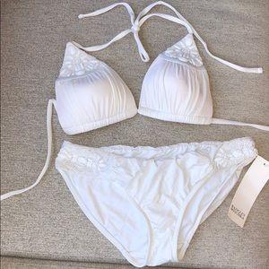 Other - Badgley Mischka White Bikini- brand new!
